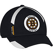 adidas Men's Boston Bruins Practice Structured Black Flex Hat