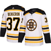 adidas Men's Boston Bruins Patrice Bergeron #38 Authentic Pro Away Jersey