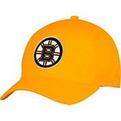 adidas Men's Boston Bruins Alternate Colored Basic Structured Gold Flex Hat