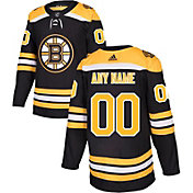 adidas Men's Custom Boston Bruins Authentic Pro Home Jersey