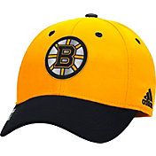 adidas Men's Boston Bruins 100 Year Structured Gold Flex Hat