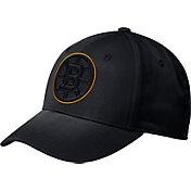 adidas Men's Boston Bruins Tonal Structured Black Flex Hat