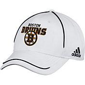 adidas Men's Boston Bruins White Structured Adjustable Hat