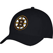 adidas Men's Boston Bruins Team Colored Basic Structured Black Flex Hat