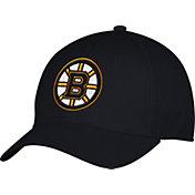 adidas Men's Boston Bruins Team Colored Basic Structured Black Flex Hat