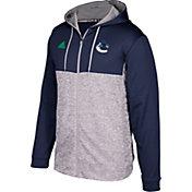 adidas Men's Vancouver Canucks Navy/Grey Full-Zip Hoodie