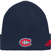 adidas Men's Montreal Canadiens Basic Navy Knit Beanie