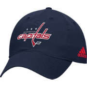 adidas Men's Washington Capitals Basic Navy Slouch Adjustable Hat