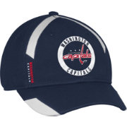 adidas Men's Washington Capitals Practice Structured Navy Flex Hat