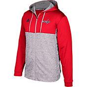 adidas Men's Washington Capitals Red/Grey Full-Zip Hoodie