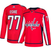 adidas Men's Washington Capitals T.J. Oshie #77 Authentic Pro Home Jersey