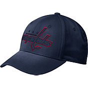 adidas Men's Washington Capitals Tonal Structured Navy Flex Hat