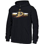 adidas Men's Anaheim Ducks Black Pullover Hoodie