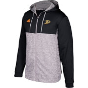adidas Men's Anaheim Ducks Black/Grey Full-Zip Hoodie