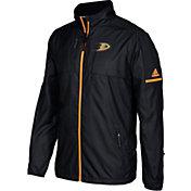 adidas Men's Anaheim Ducks Authentic Rink Black Full-Zip Jacket