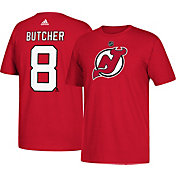 adidas Men's New Jersey Devils Will Butcher #8  Red T-Shirt