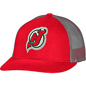 CCM Men's New Jersey Devils Trucker Red Mesh Adjustable Hat