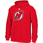 adidas Men's New Jersey Devils Red Pullover Hoodie