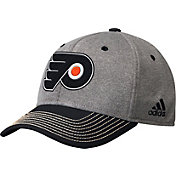 adidas Men's Philadelphia Flyers Two-Color Heather Grey/Black Snapback Adjustable Hat