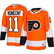 adidas Men's Philadelphia Flyers Travis Konecny #11 Authentic Pro Home Jersey