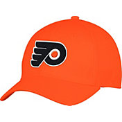 adidas Men's Philadlephia Flyers Alternate Colored Basic Structured Orange Flex Hat