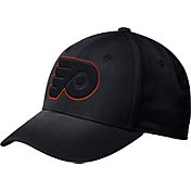adidas Men's Philadelphia Flyers Tonal Structured Black Flex Hat