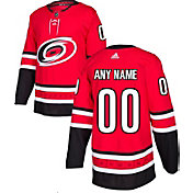adidas Men's Custom Carolina Hurricanes Authentic Pro Home Jersey