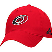 adidas Men's Carolina Hurricanes Basic Red Slouch Adjustable Hat