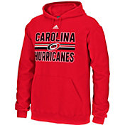 adidas Men's Carolina Hurricanes Facewash Red Pullover Hoodie