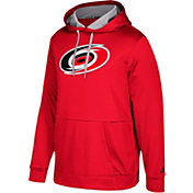 adidas Men's Carolina Hurricanes Red Performance Pullover Hoodie