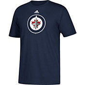 adidas Men's Winnipeg Jets Big Logo Navy T-Shirt