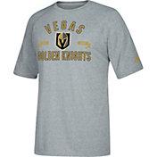 adidas Men's Vegas Golden Knights Misconduct Performance Heather Grey T-Shirt