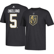 adidas Men's Vegas Golden Knights Deryk Engelland #5 Black T-Shirt