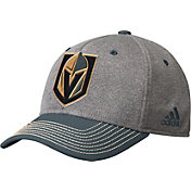 adidas Men's Vegas Golden Knights Two-Color Heather Grey/Grey Snapback Adjustable Hat