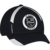 adidas Men's Los Angeles Kings Practice Structured Black Flex Hat