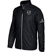 adidas Men's Los Angeles Kings Authentic Rink Black Full-Zip Jacket