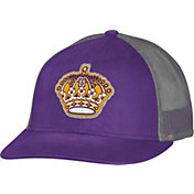 CCM Men's Los Angeles Kings Trucker Purple Mesh Adjustable Hat