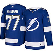 adidas Men's Tampa Bay Lightning Victor Hedman #77 Authentic Pro Home Jersey
