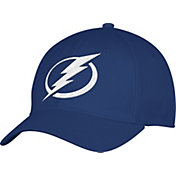 adidas Men's Tampa Bay Lightning Team Colored Basic Structured Navy Flex Hat