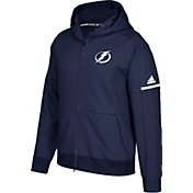 adidas Men's Tampa Bay Lightning Authentic Pro Squad ID Navy Full-Zip Hoodie