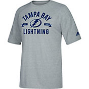 adidas Men's Tampa Bay Lightning Misconduct Performance Heather Grey T-Shirt