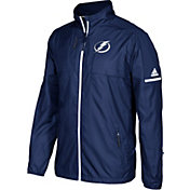 adidas Men's Tampa Bay Lightning Authentic Rink Royal Full-Zip Jacket
