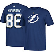 adidas Men's Tampa Bay Lightning Nikita Kucherov #86 Royal T-Shirt