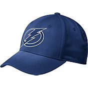 adidas Men's Tampa Bay Lightning Tonal Structured Blue Flex Hat