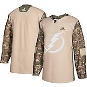 adidas Men's Tampa Bay Lightning Camo Authentic Pro Jersey