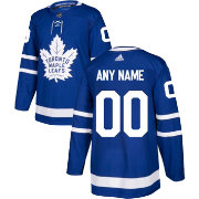 adidas Men's Custom Toronto Maple Leafs Authentic Pro Home Jersey