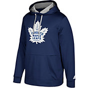 adidas Men's Toronto Maple Leafs Navy Performance Pullover Hoodie