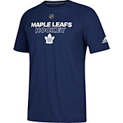 adidas Men's Toronto Maple Leafs Authentic Ice Ultimate Royal Performance T-Shirt
