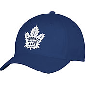 adidas Men's Toronto Maple Leafs Team Colored Basic Structured Royal Flex Hat