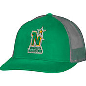 CCM Men's Minnesota North Stars Trucker Green Mesh Adjustable Hat